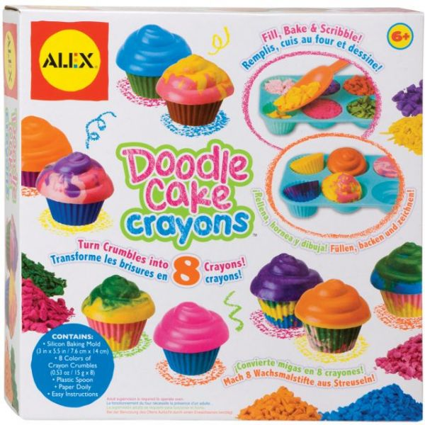 ALEX Toys Doodle Cake Crayons Kit