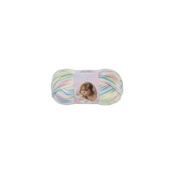 Mary Maxim Baby's Best Yarn - Rainbow Print