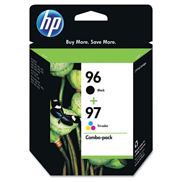 HP 96/97 Combo Pack Ink Cartridges (C9353FN)