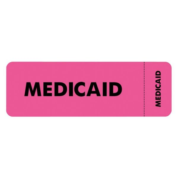 Tabbies Medicaid Insurance Label