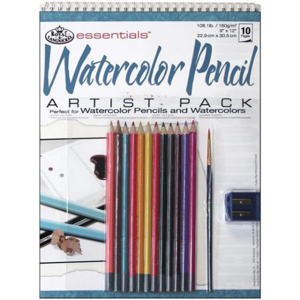 Essentials Watercolor Pencil Artist Pack