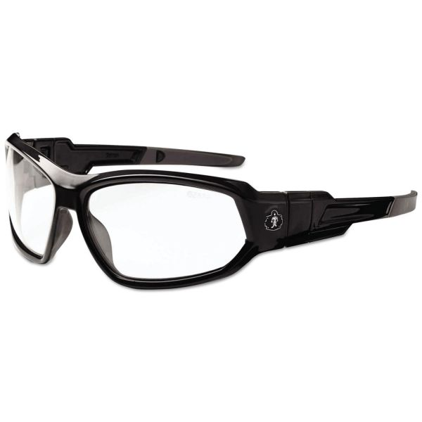Ergodyne Skullerz Loki Clear Lens Safety Glasses
