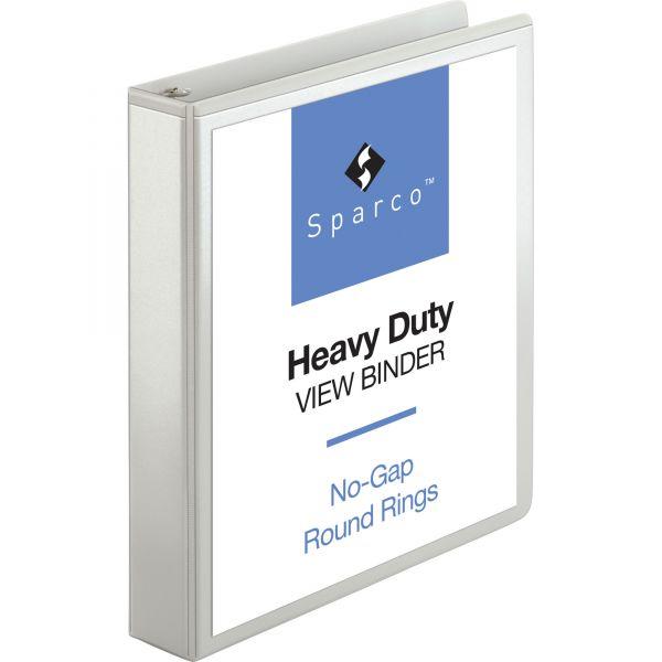 """Sparco Premium 1 1/2"""" 3-Ring View Binder"""