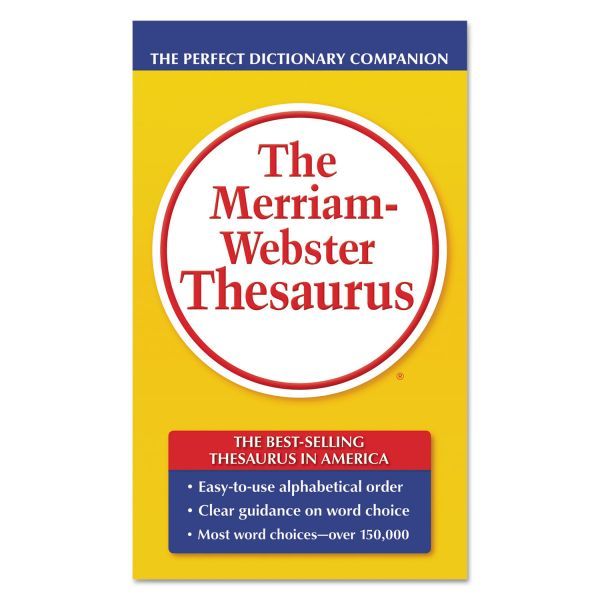The Merriam-Webster's Thesaurus