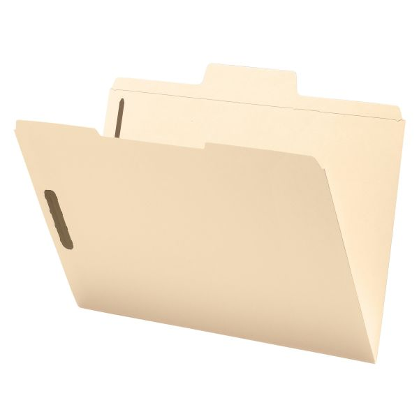 Smead SuperTab File Folders With Fasteners