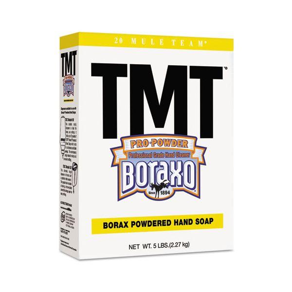 Boraxo TMT Powdered Hand Soap, Unscented Powder, 5lb Box
