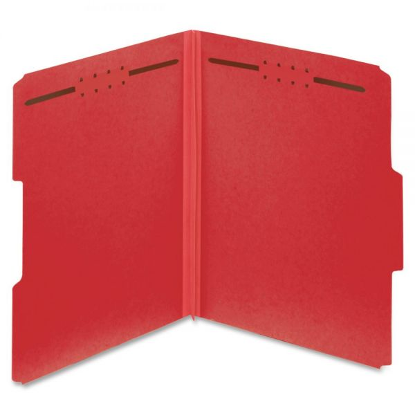 Globe-Weis Pressboard File Folders with Fasteners