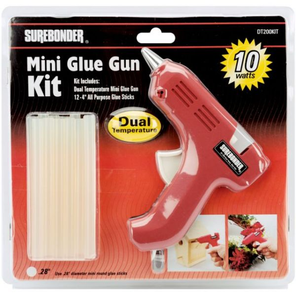 Dual-Temp Mini Glue Gun Kit