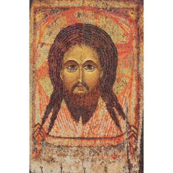 Icon Holy Face On Aida Counted Cross Stitch Kit