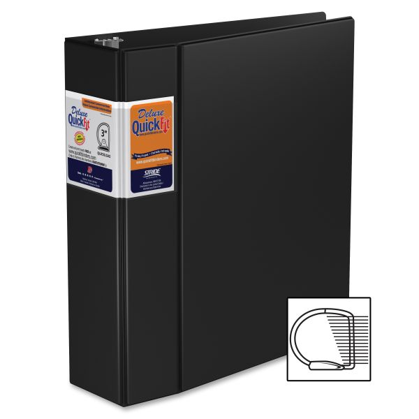 "Stride Quick Fit 3"" 3-Ring Binder"