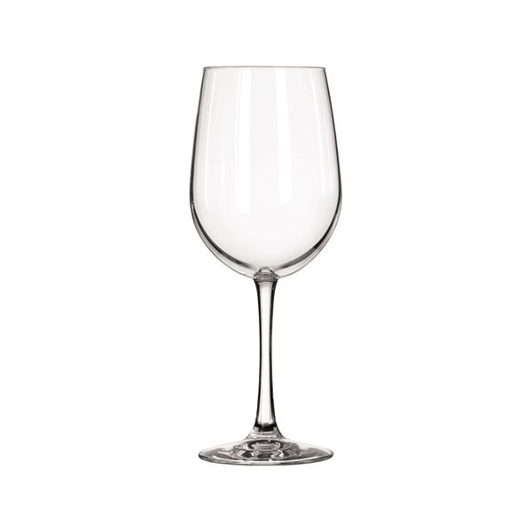 "Libbey Vina Fine Glass Stemware, Tall Wine, 18.5oz, 9 1/8"" Tall, 12/Carton"