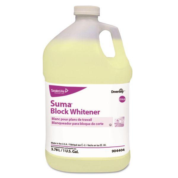Diversey Suma Block Whitener, 1 gal Bottle, 4/Carton