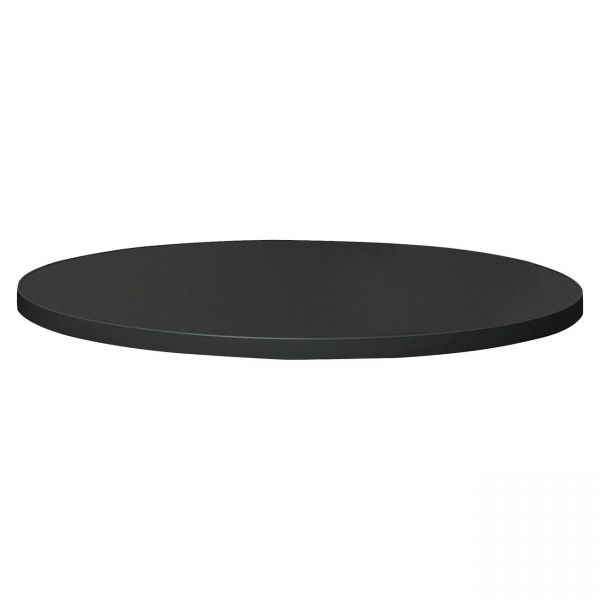 """Tiffany Industries Table Top, 36"""" Round, Charcoal"""