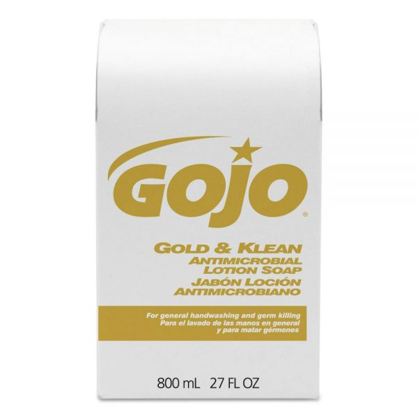 GOJO Gold & Klean Bag-in-Box Lotion Hand Soap Refill