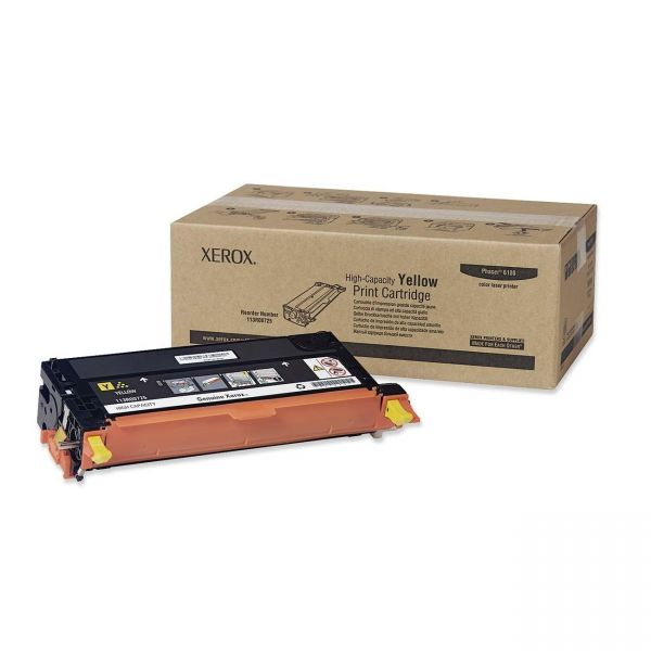 Xerox 113R00725 Yellow High Yield Toner Cartridge