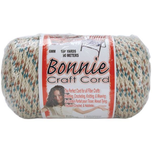 Bonnie Macrame Craft Cord 6mm X 100yd