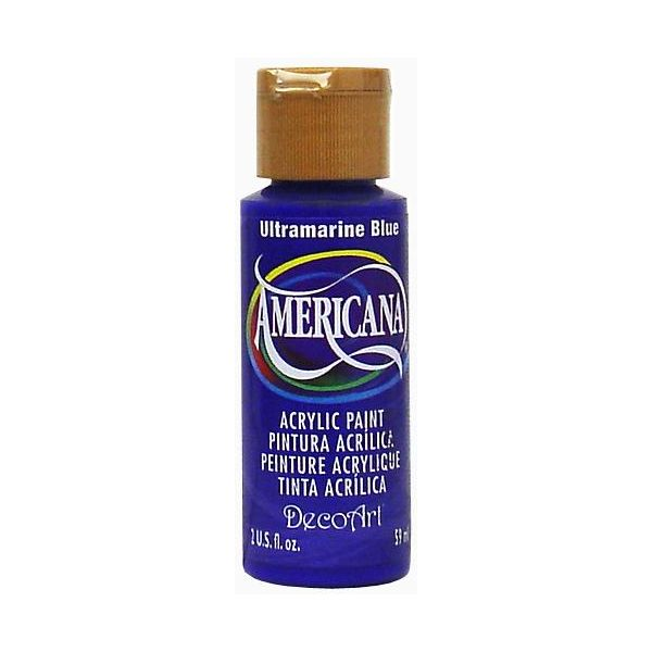Deco Art Americana Ultramarine Blue Acrylic Paint