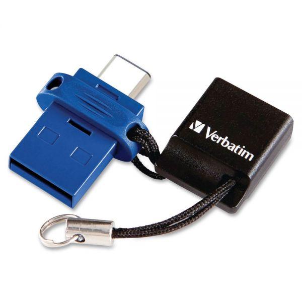 Verbatim 16GB Store 'n' Go Dual USB 3.0 Flash Drive