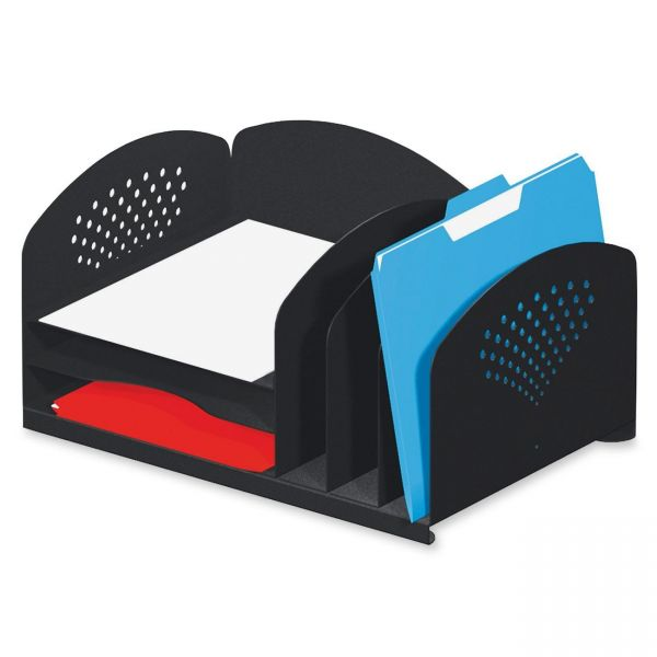 Safco Combination Vertical Desktop File Organizer