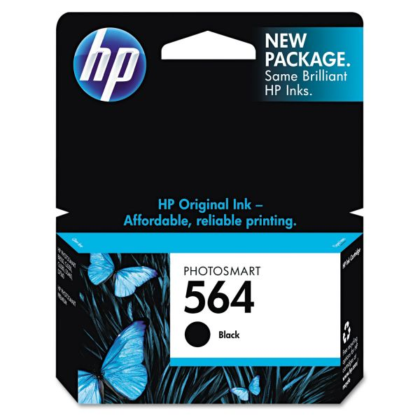 HP 564 Black Ink Cartridge (CB316WN)