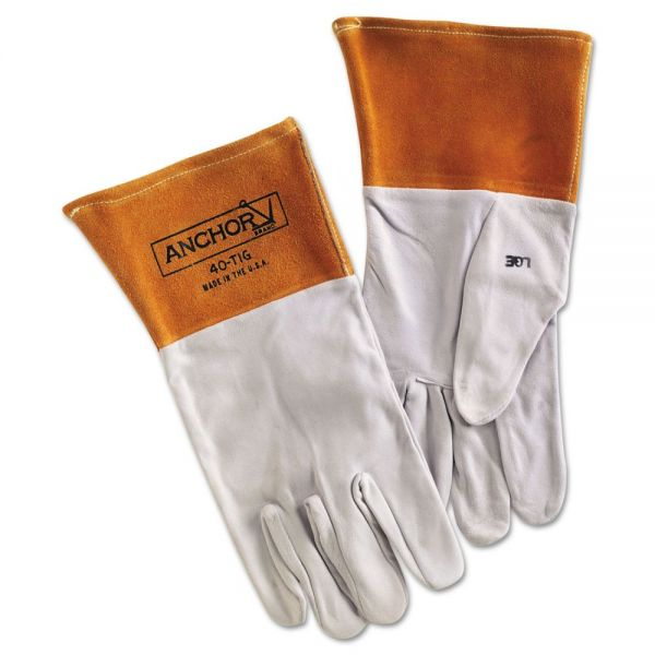Anchor Brand 40TIG Tig Welding Gloves, Large