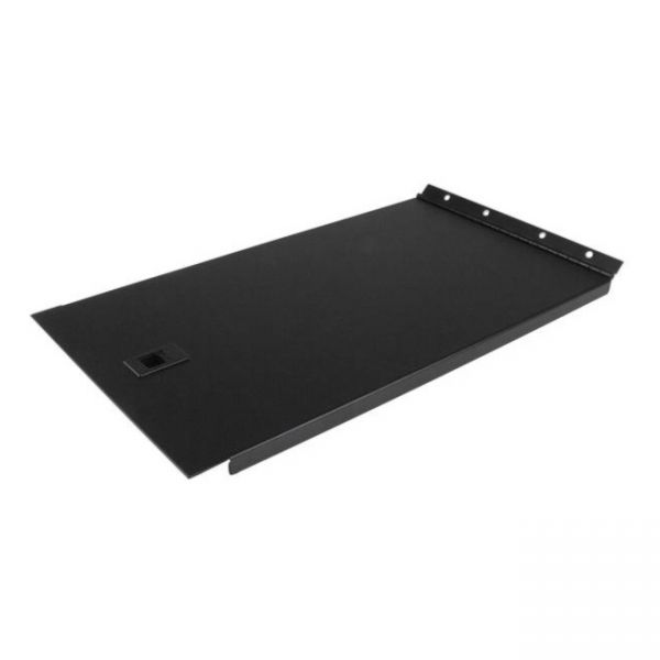 StarTech.com Blanking Panel - 6U - Hinged Rack Panel - 19in - Steel - Black - TAA Compliant - Tool-less Installation