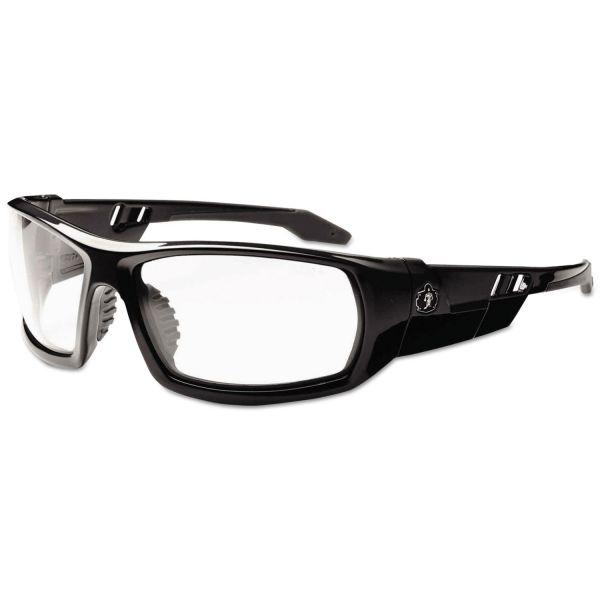 Ergodyne Skullerz Odin Clear Lens Safety Glasses