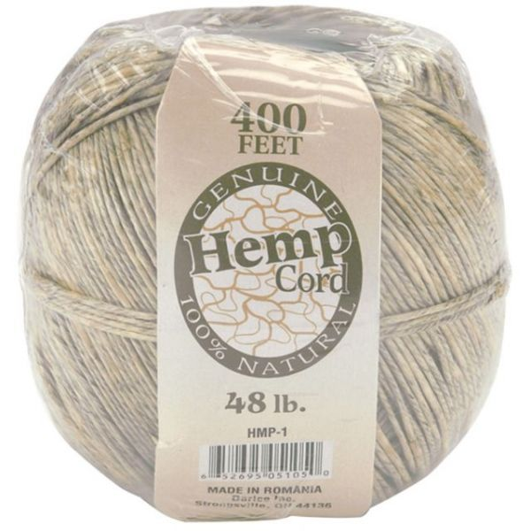 Hemp Cord 48lb 400'