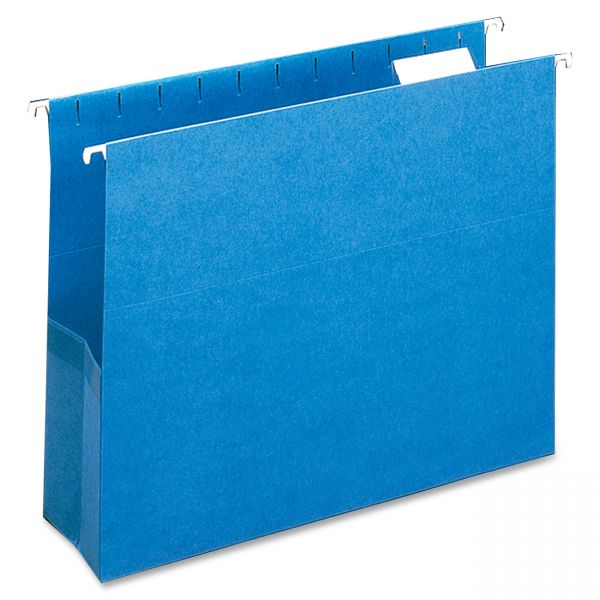 Smead 64270 Sky Blue Colored Hanging Pockets with Tab