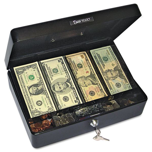 PM Company Securit Spaciously Sized Cash Box