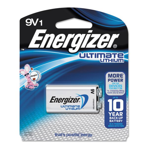 Energizer Ultimate Lithium 9V Batteries