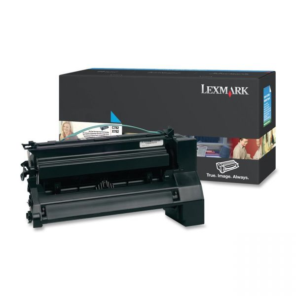 Lexmark C782U1CG Cyan Extra High Yield Return Program Toner Cartridge