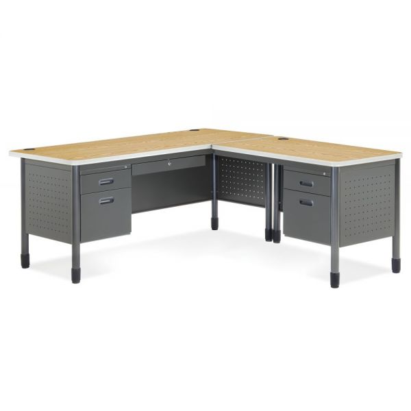 OFM Mesa Series L-Shaped Office Desk