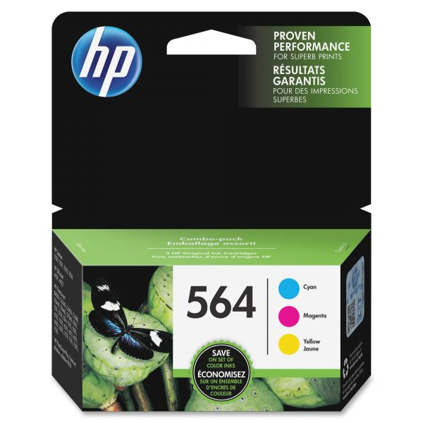 HP 564 Ink Cartridges (N9H57FN)