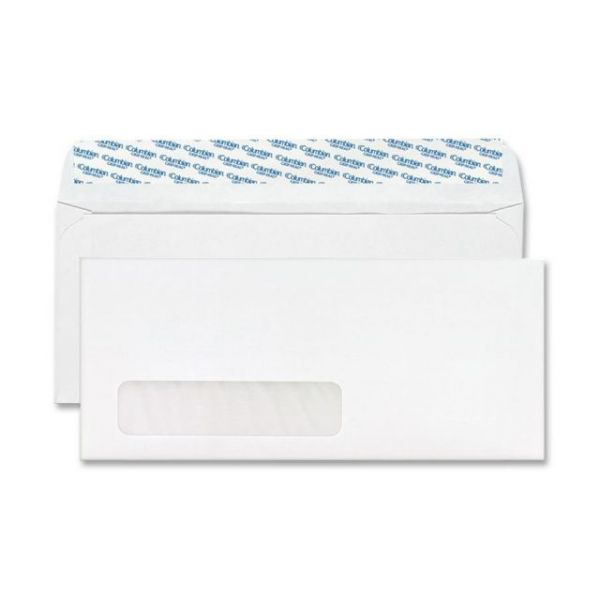 MeadWestvaco Columbian Grip-Seal Window Business Envelopes