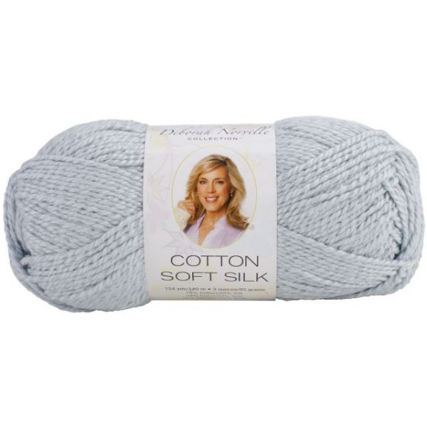 Deborah Norville Cotton Soft Silk Yarn - Powder Blue