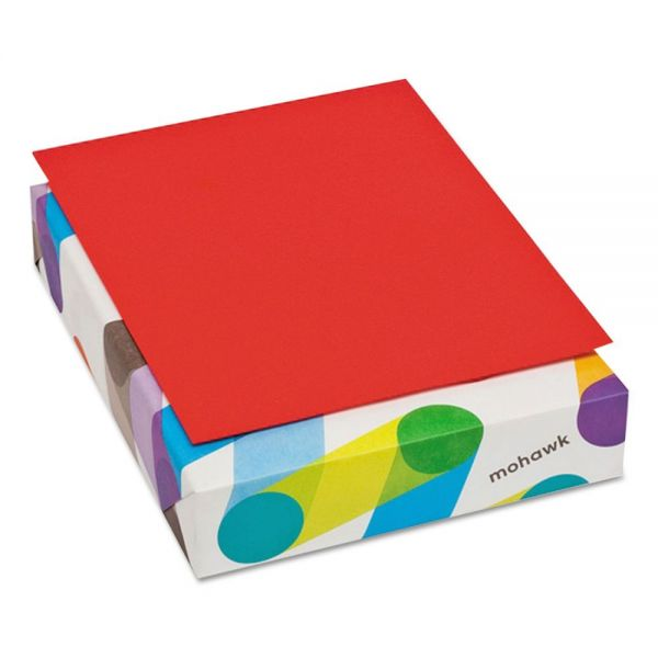 Mohawk Brite-Hue Colored Paper - Red