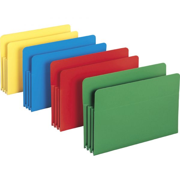 Smead 73550 Colored Poly File Pockets