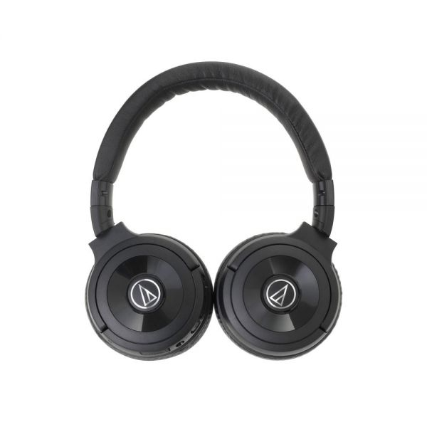 Audio-Technica Solid Bass Wireless Over-Ear Headphones with Built-in Mic & Control