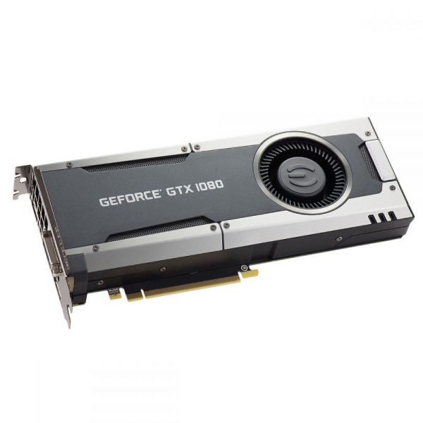 EVGA GeForce GTX 1080 Graphic Card - 1.61 GHz Core - 1.73 GHz Boost Clock - 8 GB GDDR5X - PCI Express 3.0 x16 - Dual Slot Space Required