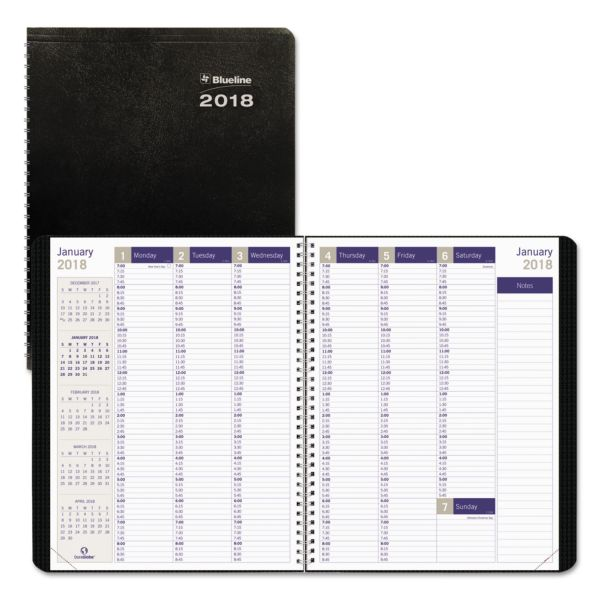 Blueline Weekly Appointment Book