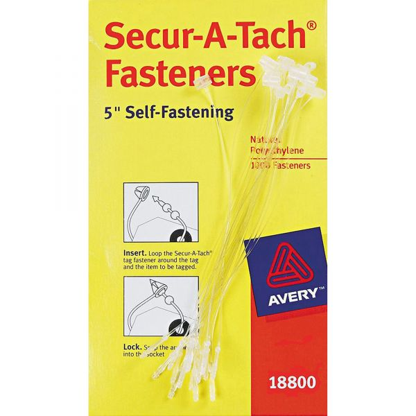 Avery Secur-A-Tach Plastic Tag Fasteners