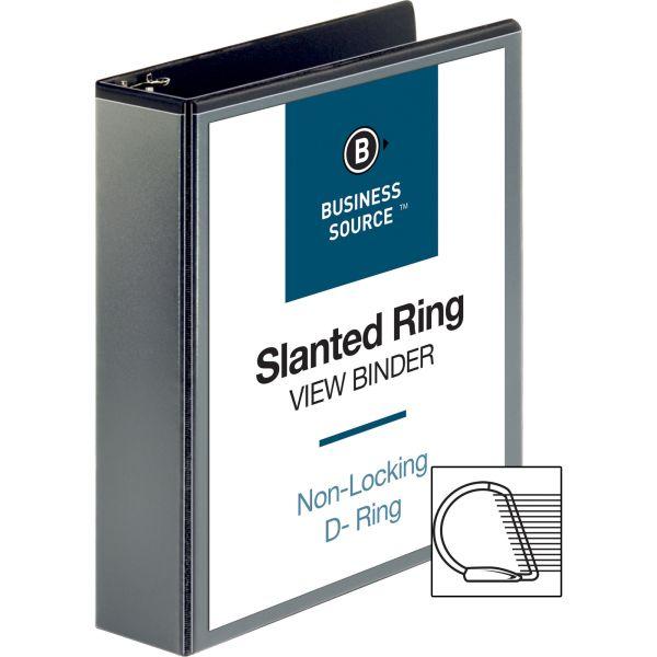 "Business Source Basic 2"" 3-Ring View Binder"