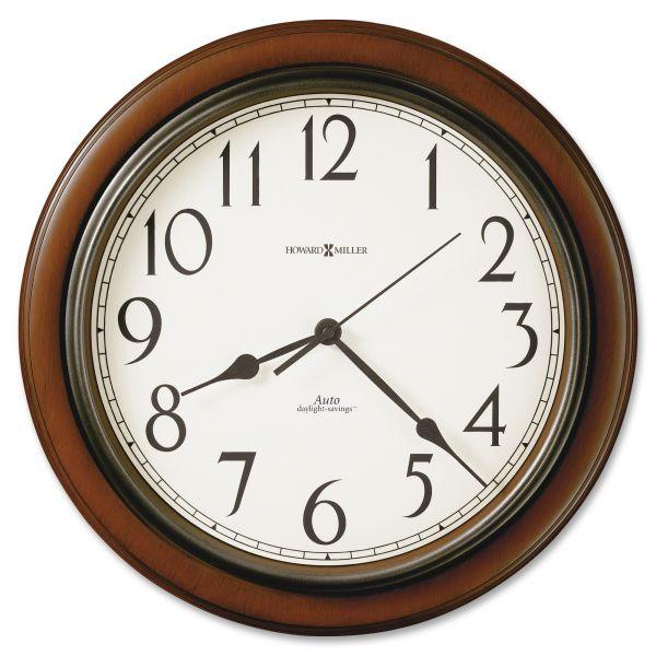 Howard Miller Talon Cherry Wall Clock