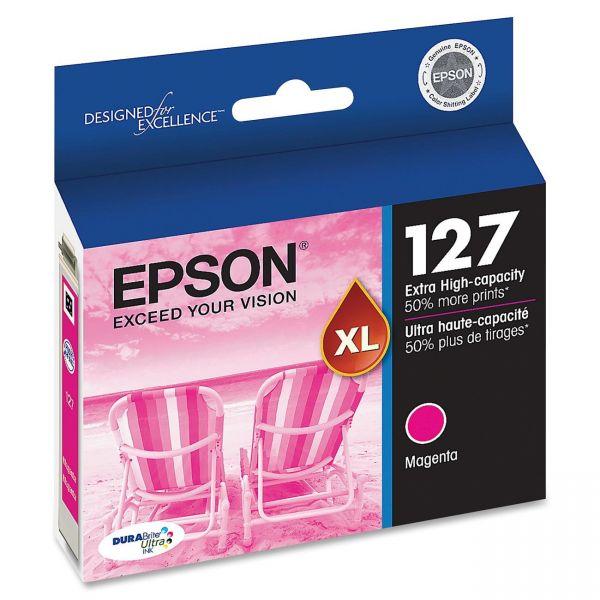 Epson High-Yield 127 XL Magenta Ink Cartridge (T127320)