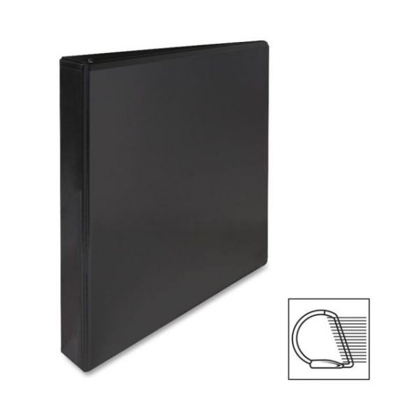 "Sparco Deluxe 1"" 3-Ring View Binder"