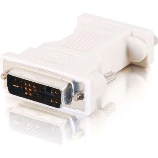 C2G DVI-A to VGA Video Adapter for Desktops and Displays - M/F