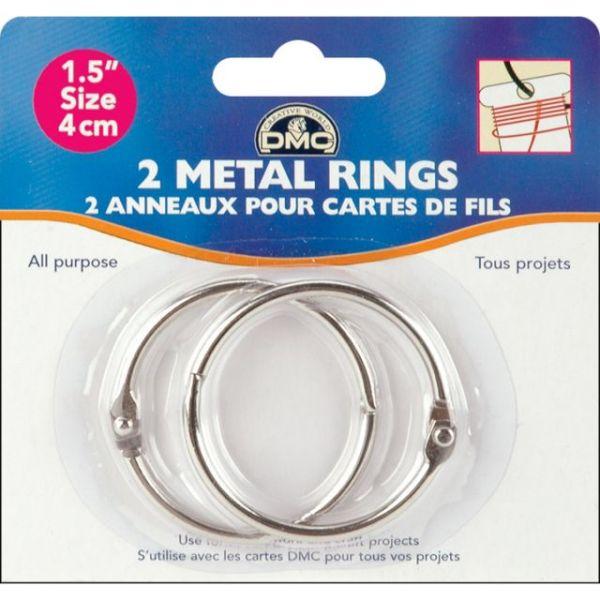 "Metal Rings 1.5"""