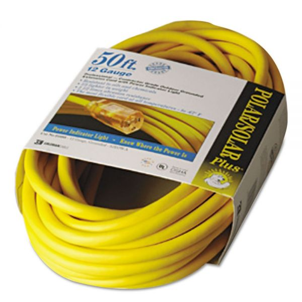 CCI Polar/Solar 50' Indoor-Outdoor Extension Cord With Lighted End