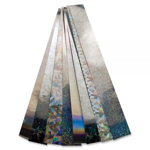 Hygloss Non-gummed Holographic Chain Strips